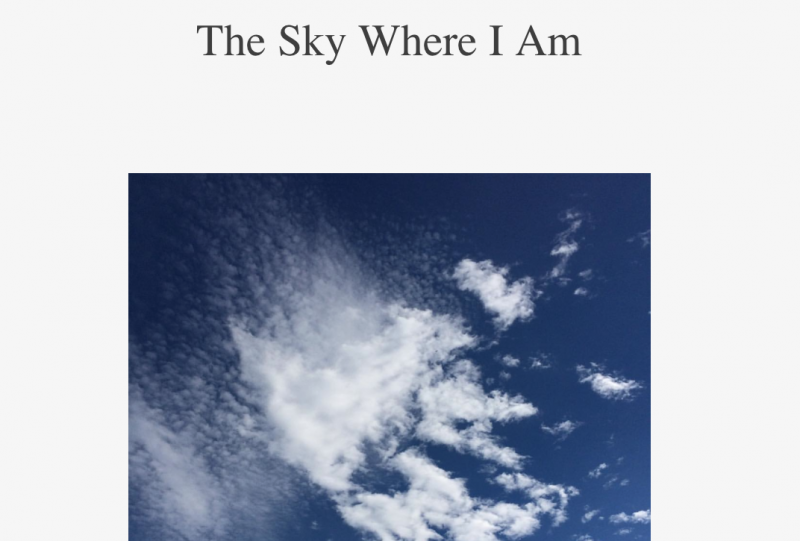 TheSkyWhereIAm